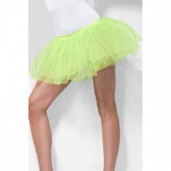 Tutu Underskirt Neon Green 4 Layers 30cm Long