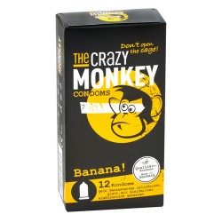 TCMC Banana! Condooms - 12 stuks