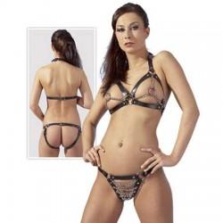 Leren Bikini S-L