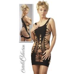 Zwarte open jurk