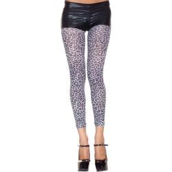 Legging Met Luipaardprint - Grijs