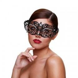 Metaal Venetiaans Masker - Midnight