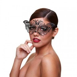 Metaal Venetiaans Masker - Madame