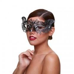 Metaal Venetiaans Masker - Courtesan