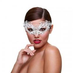 Metaal Venetiaans Masker - Snow Queen