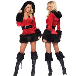 Kerstlingerie en -jurkjes